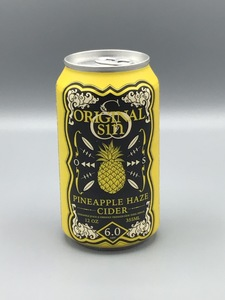 Original Sin - Pineapple Haze (12oz Can)